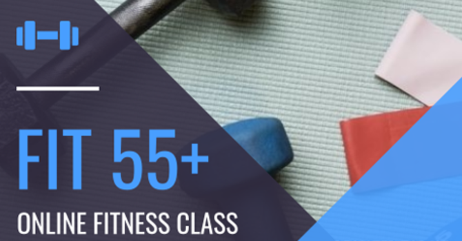 Fit 55+ Online Fitness Class  image