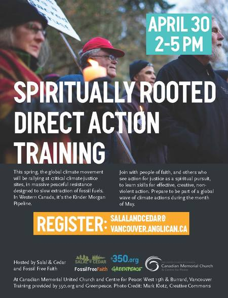Spiritually Rooted Direct Action Training