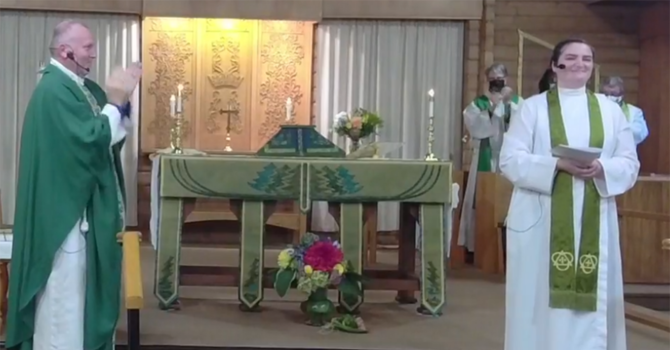 Induction of the Reverend Helen Dunn as Rector of St. Clement's image