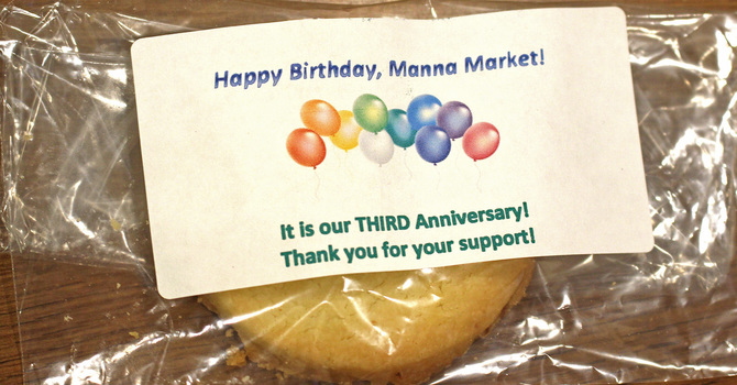 Manna Market Milestone image