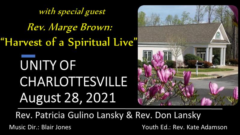 Harvest of a Spiritual Life