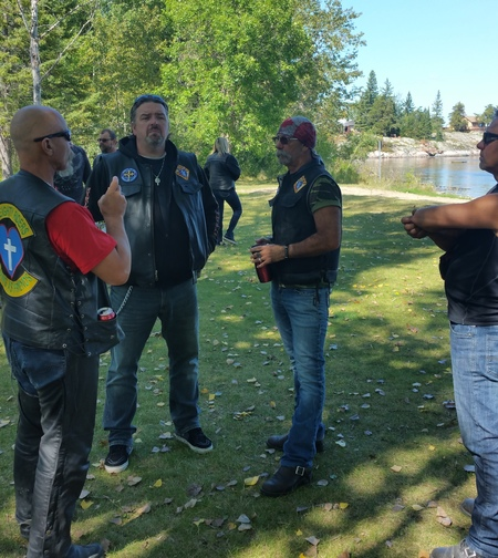 Knights on Bikes Ride with the King Saturday Sept 02 2017