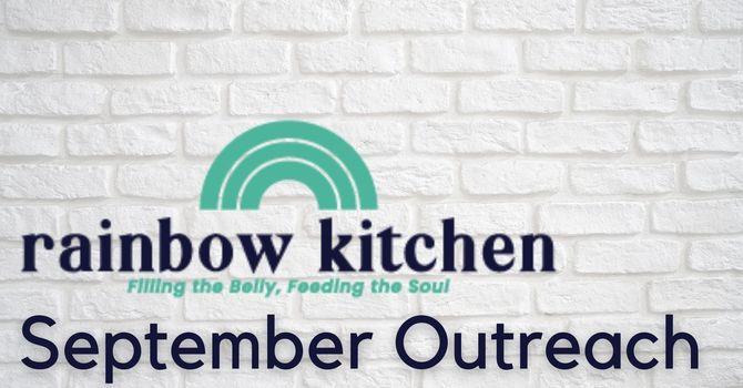 September Outreach: Rainbow Kitchen image