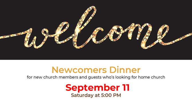 Newcomers Dinner