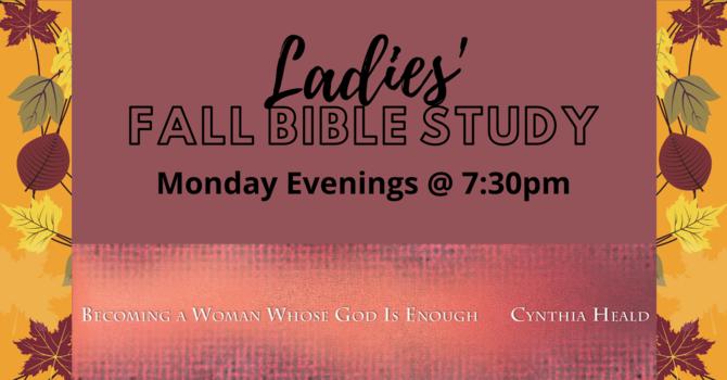 Monday Evening Ladies' Bible Study & Prayer 7:00pm