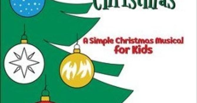 Children's Christmas Musical Rehearsals Each Sunday image