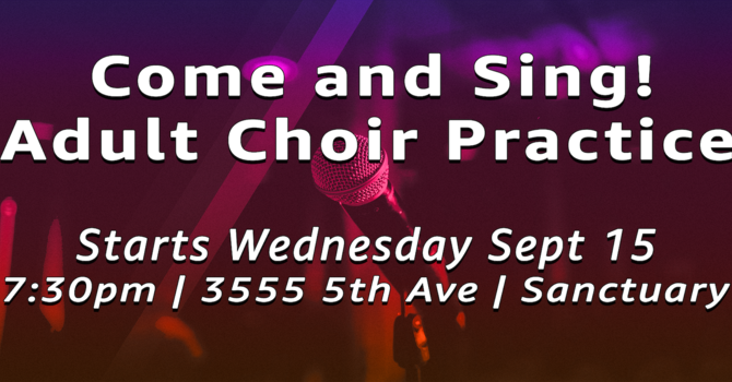 Come Join The Choir image