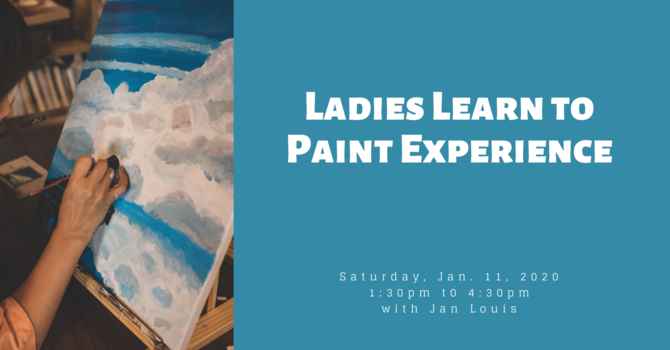 Ladies Learn to Paint Experience