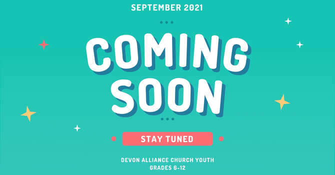 Youth Events Coming!   image
