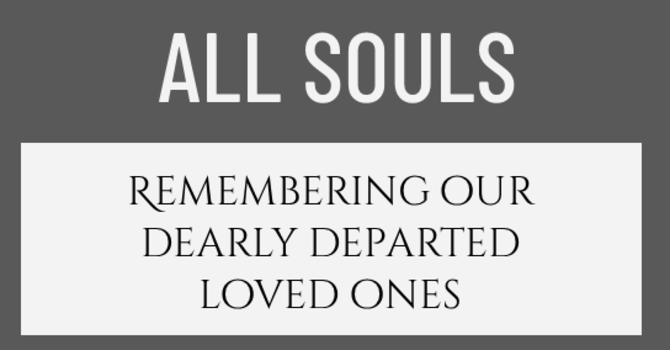 COMMEMORATION OF ALL SOULS