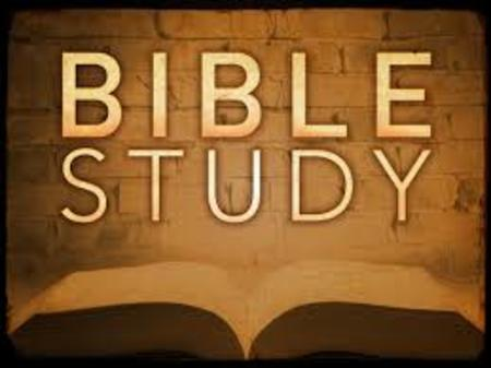 Bible Study - The Sermon on the Mount