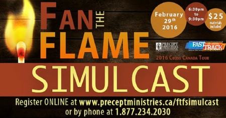 Fan the Flame LIVE Event-Precept Ministries