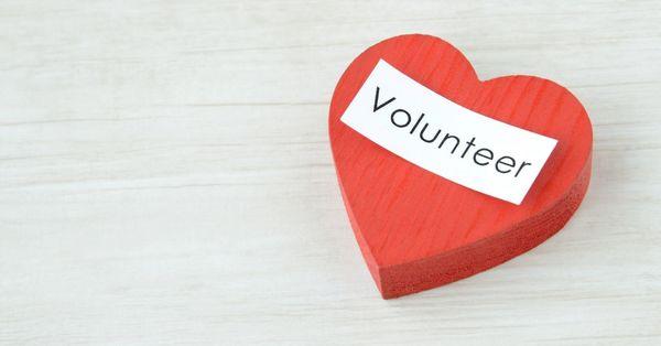 Speaking of volunteering...