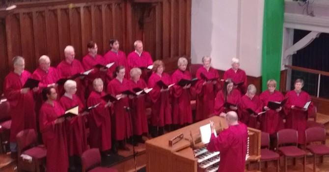 Sanctuary Choir rehearsal