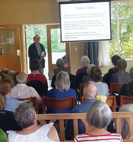 Be Prepared! Volunteers trained for Neighbourhood Ministry Service