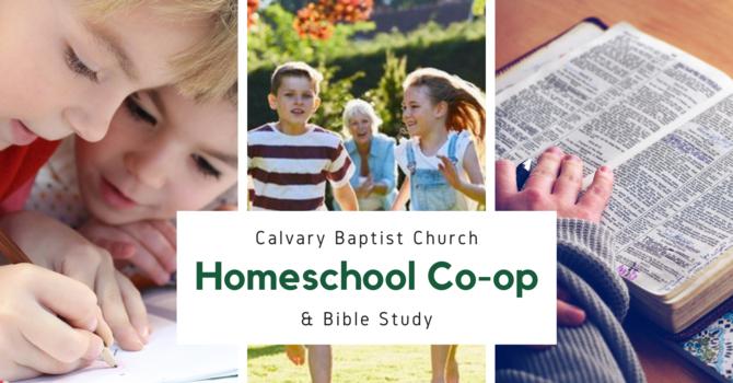 Homeschool Co-op & Bible Study