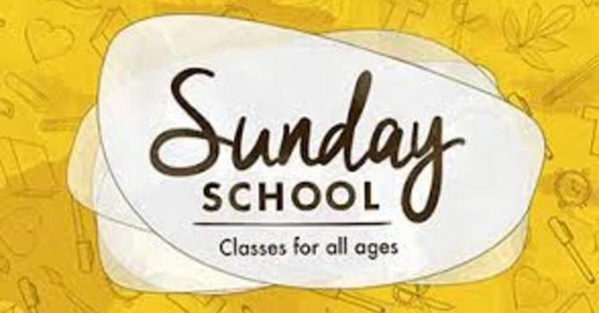 Sunday School Classes