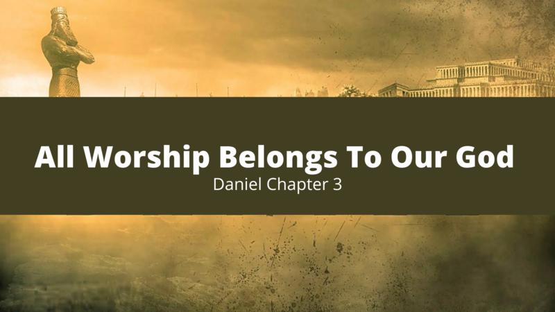 All Worship Belongs To Our God