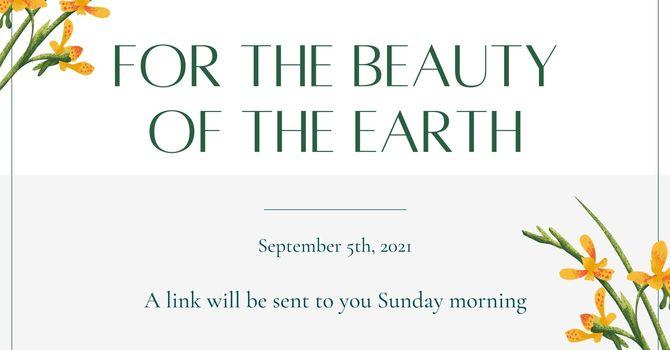 Sunday Service, September 5th