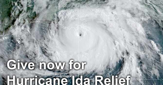 Give now for Hurricane Ida relief image