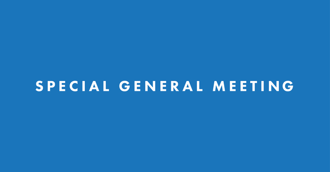 Special General Meeting: Theological Exploration
