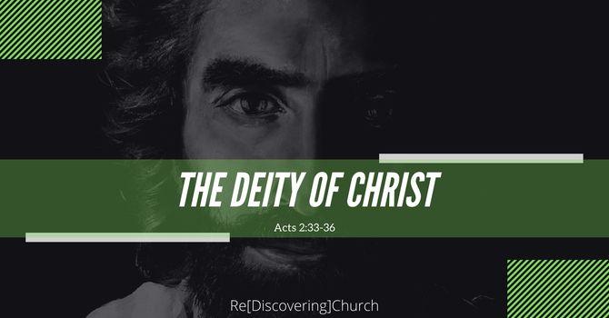 The Deity of Christ