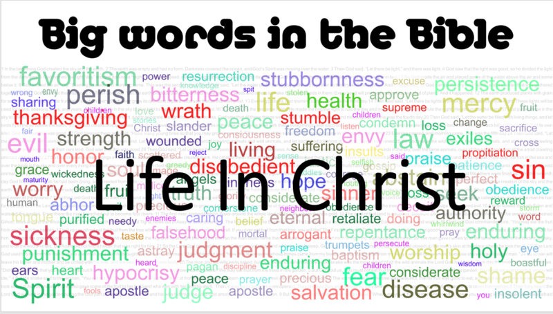 Big Words In The Bible