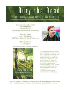Bury the dead book launch