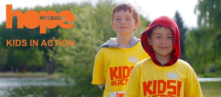 Hope Mission Kids In Action 5k Run