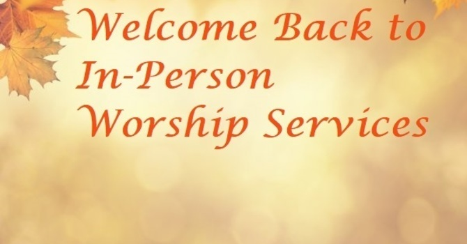 Welcome Back to our Fall Services