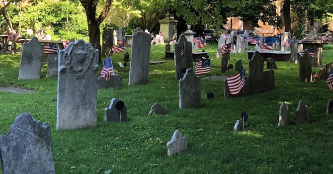 Self-Guided Audio Tours Start At Old Pine Presbyterian's Graveyard image