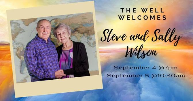9-4 Steve and Sally Wilson - Healing Service