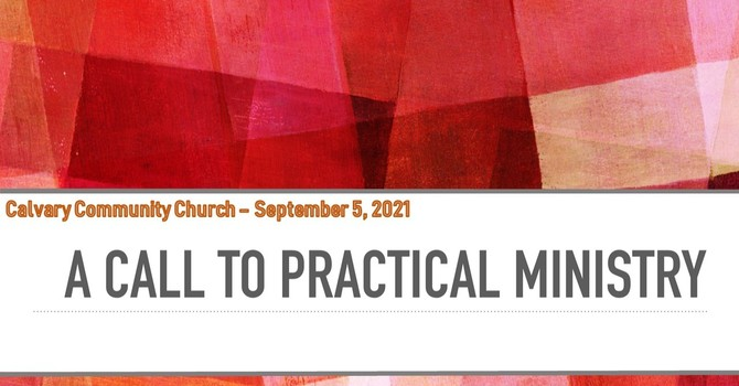 A Call To Practical Ministry