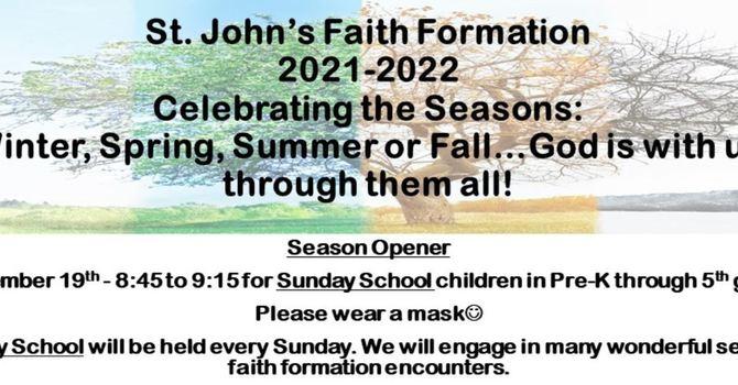Faith Formation - Sunday School