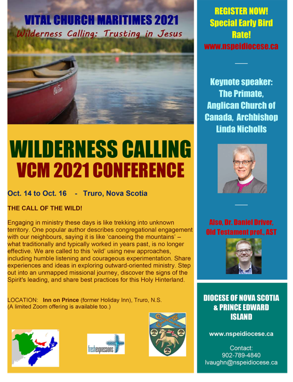 Vital Church Maritimes 2021 conference
