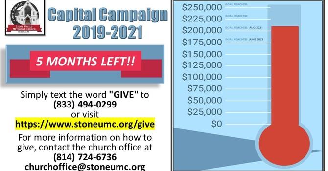 Capital Campaign Update