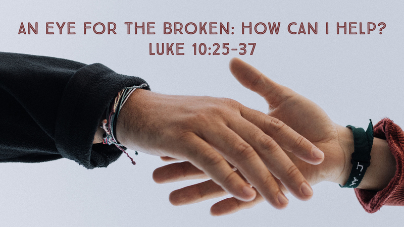 An Eye for the Broken: How Can I Help?