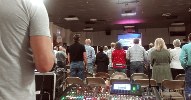 Worship Returns to Central Elementary image