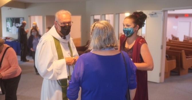 Fr. Allen Celebrates 10 Years at St. Matthew! image