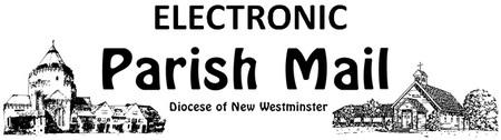 Deadline for Sep 6 Parish Mail