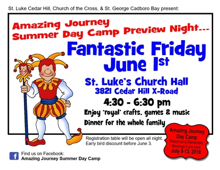 Fantastic Friday - Day Camp Preview Night