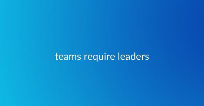 Teams Require Leaders image