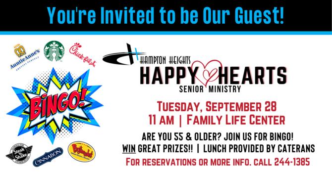 Happy Hearts Senior Ministry