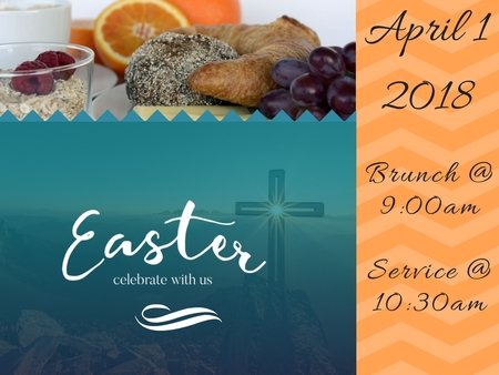 Easter Sunday Brunch & Worship Service