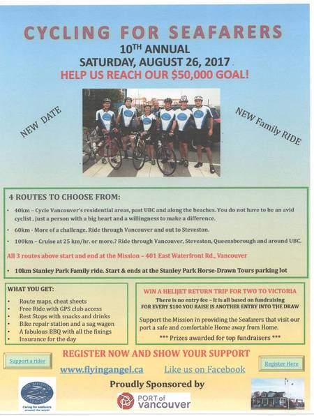 Cycling for Seafarers 2017