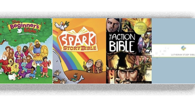 BIBLES & BLESSINGS THIS SUNDAY image