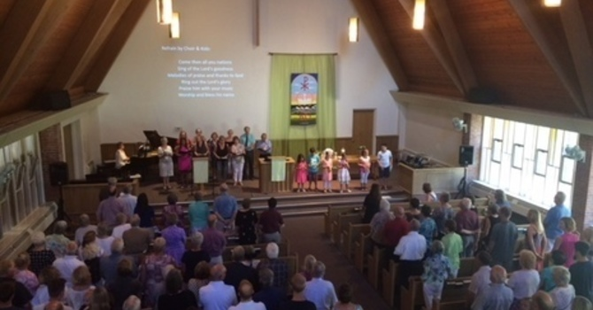 Hybrid (In-person, Live Streamed) Worship Service