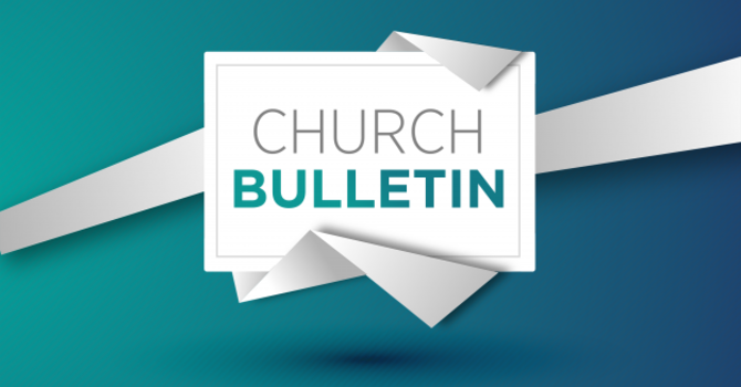 Bulletin 09-12-2021 image