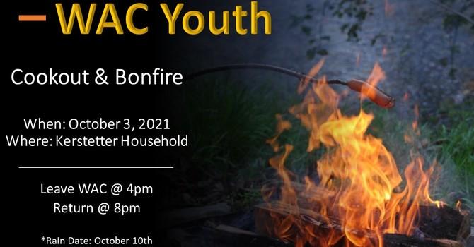 WAC Youth Cookout & Bonfire