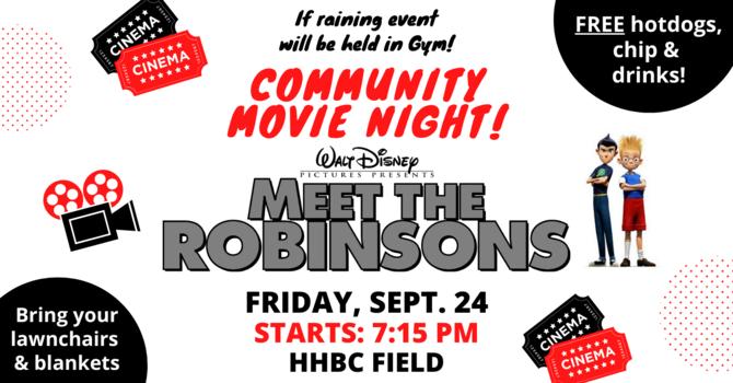 "Community Movie Night ""Meet the Robinsons"""